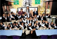 "Etan Thomas's view of the Ron Clark Academy: ""All They do is Win Win Win No Matter What"" Ron Clark, Leader In Me, No Matter What, Classroom Resources, Teaching Kids, Bulletin Boards, Public, Inspire, Songs"