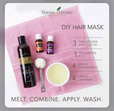 Source: Pinterest | dit hair mask | trending hair mask ideas | #wittyvows #mask #maskcarabeauty #hairmakeup #hairmask #hairgrowth #haircare #trending #haircaretips #haircareproducts Young Living Hair, Young Living Oils, Coconut Oil For Face, Coconut Oil Uses, Essential Oils For Face, Young Living Essential Oils, Hair Tonic, Cedarwood Essential Oil, Essential Oils