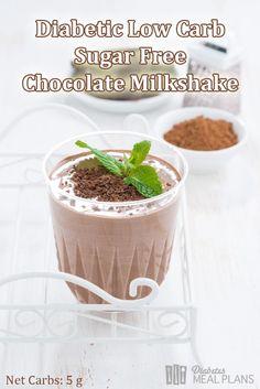 Carb Diabetic Chocolate Milkshake Sugar free, Low Carb, Diabetic Chocolate MilkshakeMilkshake (disambiguation) A milkshake is a beverage typically made with blended milk and ice cream. Milkshake may also refer to: Diabetic Smoothies, Diabetic Drinks, Healthy Snacks For Diabetics, Diabetic Recipes, Smoothies For Diabetics, Keto Recipes, Stevia Recipes, Diabetic Menu, Healthy Carbs