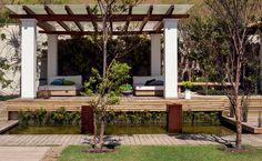 Terreno baldio virou jardim - Campinas