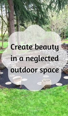 Create Beauty In A Neglected Outdoor Space