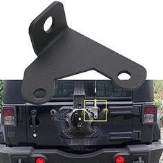 New Arrival Car Spare Tire CB High Quality Antenna Mount For 2007-2015 Jeep Wrangler Jk 2/4 Door Car Antenna Frame Tail Door