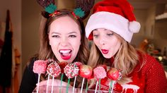 One of zoellas. Amazing 24dayofzoella videos. With Tanya Burr. They made holiday cake pops.