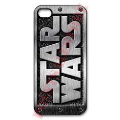 Star wars logo Apple iPhone 5 Black case, option: White case available