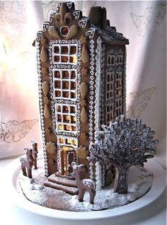 Dutch gingerbread house