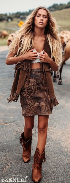 While I'm not a fan of the overall ensemble, each individual piece is rad. Especially the vest.