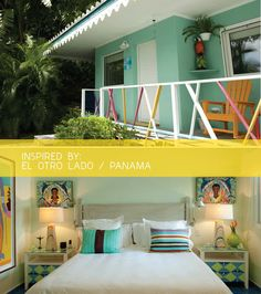 modern tropical style at el otro lado hotel in panamanian jungle via happymundane.com