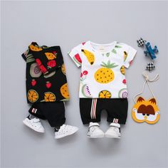 Lurryly 2018 Toddler Kids Baby Boys Summer Casual Headphone Short Sleeve Tops Blouses T-Shirt Tees Clothes 1-6T