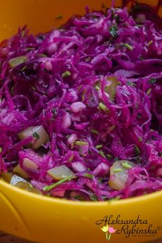 Recipes Alexandra: red cabbage salad and pickled cucumbers Kitchen Recipes, Raw Food Recipes, Vegetarian Recipes, Cooking Recipes, Healthy Recipes, Simply Recipes, Side Recipes, Cooking Brussel Sprouts, European Cuisine
