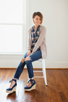 ONE little MOMMA: Plaid Refresh