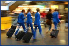 KLM Stewardesses