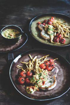 Recept met entrecote van Pascale Naessens | Tendens.tv Tapas, Bio Food, I Want Food, Munnar, Happy Foods, Good Healthy Recipes, Healthy Food, Stay Healthy, Prime Rib