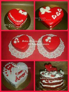 Bolo Coração - S. Valentim
