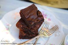crazy good brownies (gluten-free) - Organically Thin