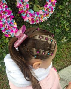 Each of these hairstyles will be fairly simple as well as are great for starters, quick and simple toddler hair-styles. Mixed Kids Hairstyles, Cute Toddler Hairstyles, Girls Hairdos, Cute Little Girl Hairstyles, Girls Natural Hairstyles, Cute Girls Hairstyles, Kids Braided Hairstyles, Princess Hairstyles, Natural Hair Styles