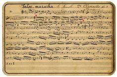 antique JAPANESE wrttten sheet music' | Vintage Ephemera Graphic - French Sheet Music - The Graphics Fairy