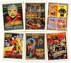 Cartel de cine mexicano