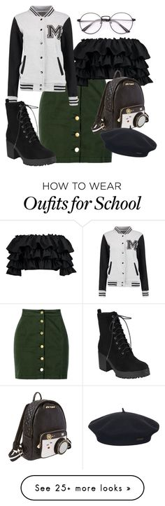 """""""Untitled #1529"""" by twisted-magic on Polyvore featuring Boohoo, Betsey Johnson and Element"""