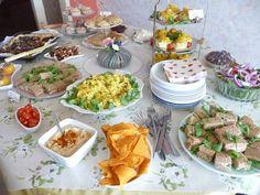 Vegan Afternoon Tea & Family Party Buffet Celebration
