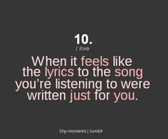 When it feels like the lyrics were written for you quotes music quote girl song lyrics emotions feelings song lyrics mood Song Lyric Quotes, Love Song Quotes, Music Lyrics, Music Quotes, Quotes To Live By, Me Quotes, Music Sayings, Singing Quotes, Life Lyrics