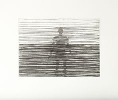 New Antony Gormley Etching Print Limited Edition Another Place White Cube Antony Gormley Another Place Gormley Antony Gormley