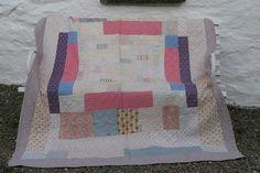 Victorian Patchwork Quilt   Jen Jones Welsh Quilts and Blankets
