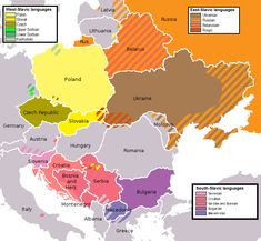 Slavic languages. I think a lot of people group Slavs together as speaking the same language, or very very similar and they dont.