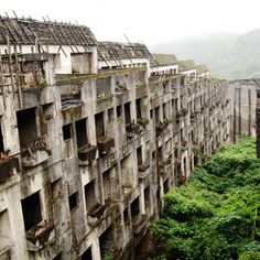 Hashima Island, Japan: Established in the late 1800s, the island was a booming population center thanks to its undersea coal mines. However, the mines were closed in 1974, and shortly after everyone left. Look familiar? It served as Javier Bardem's evil island lair in Skyfall.