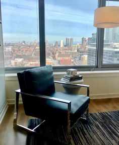 The perfect corner to curl up with a good book in at NEXT Apartments. Pent House, Apartment Interior, Floor Chair, Apartments, Interior Decorating, Corner, Interiors, Book, Furniture