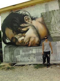 Mesa, a Spanish street artist
