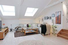 Corner Living Room Design