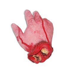 Enfeite De Halloween Mão Decepada
