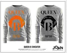 the best souvenir by far! Meet this typical #dutchpride Queen B sweater by artist Joan An Beaudoin - paint the town orange on april 30, 2013!
