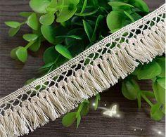 1.5cm 1 metros Precioso Blanco Blonda a mano ajuste del cordón de Venecia para el diseño de costura
