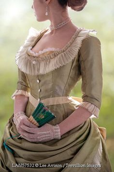 Trevillion Images - historical-woman-with-fan