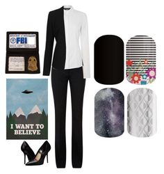 """""""Guess the Sci-Fi Movie/Show - Jamberry Nails"""" by kspantongroup on Polyvore featuring beauty, Victoria Beckham, Oui, Topshop and Burberry"""