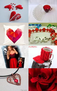 Valentine's by Sirje on Etsy--Pinned with TreasuryPin.com