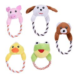 >> Click to Buy << Dog Cat Toys Pets Puppy Interactive Plush Chew Squeaker Sound Toy Duck Bear Pig Designs 1pcs #Affiliate