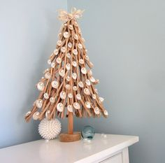 Beach+Decor+Driftwood++Shell+Christmas+Tree++by+beachgrasscottage