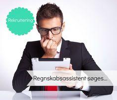 Jeg arbejder på at finde en regnskabsassistent... http://jobfee.dk/ledige-jobs/2014/07/regnskabsassistent-til-betalingsfunktion/