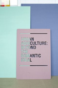 For the exhibition 'De Etende Mens' the exhibition graphics are designed by Raw Color.