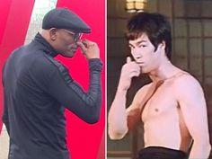 À la Bruce Lee, Spider cutuca nariz e deixa Bisping no vácuo em encarada