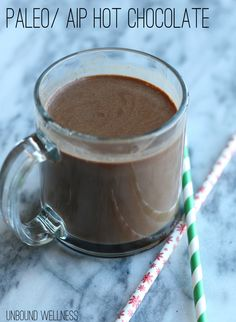 Paleo Autoimmune Protocol Hot Chocolate