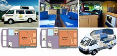 Budget campervan hire: the best way to see Australia Toyota Hiace Campervan, Campervan Hire, Campervans For Sale, Camper Van, Layout, Australia, Vehicles, Range, Model