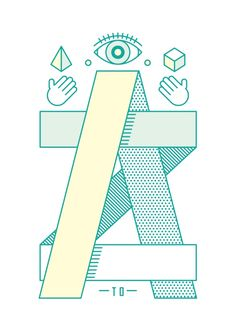 A to Z Art Print by Steven Toang | Society6