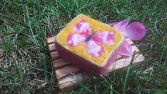 Felted soap Felted Soap, Felting, Butterfly, Fruit, Soaps, Butterflies, Wood, Felt Fabric