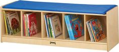 BENCH LOCKER - 5 SECTIONS | Honor Roll Childcare Supply - Early Education Furniture, Equipment and School Supplies.