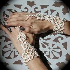 crochet slave bracelets | crochet celtic slave bracelets
