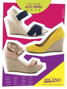 Layout anúncio Revista Local - Color Blocking Alto Verão 2012