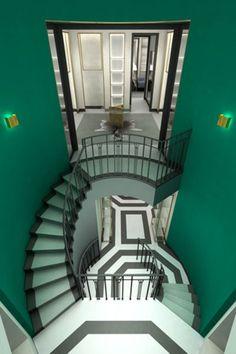 Breathtaking art deco interior